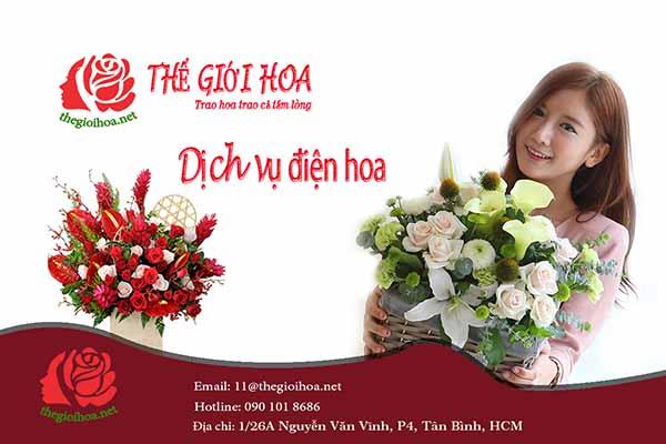 Dịch vụ đặt hoa