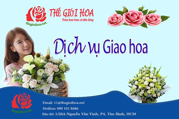 Dịch vụ giao hoa online