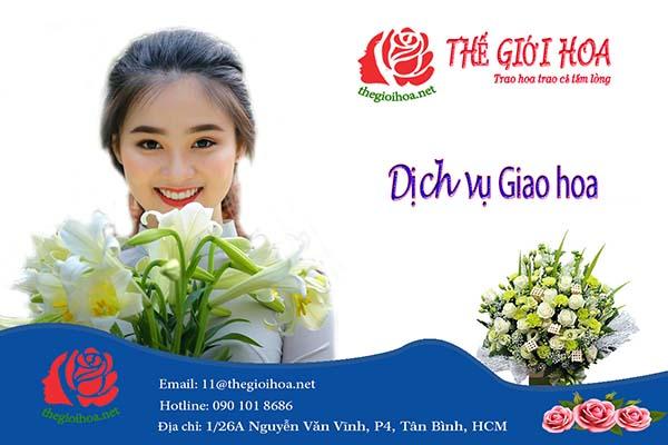 Dịch vụ đặt hoa online