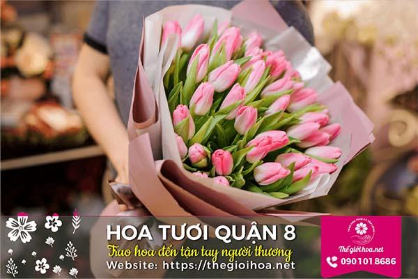 Shop hoa tươi quận 8