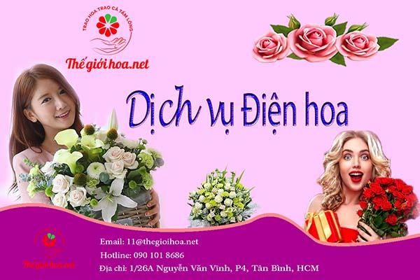 Dịch vụ điện hoa online