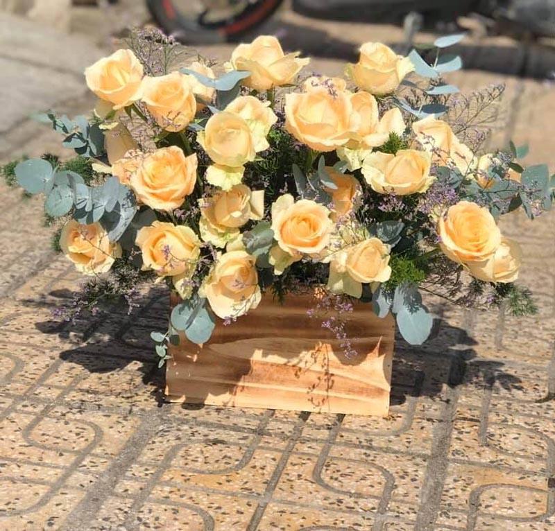 Giỏ hoa tươi Nha Trang