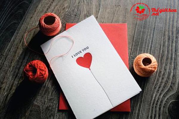 Thiệp tặng người yêu