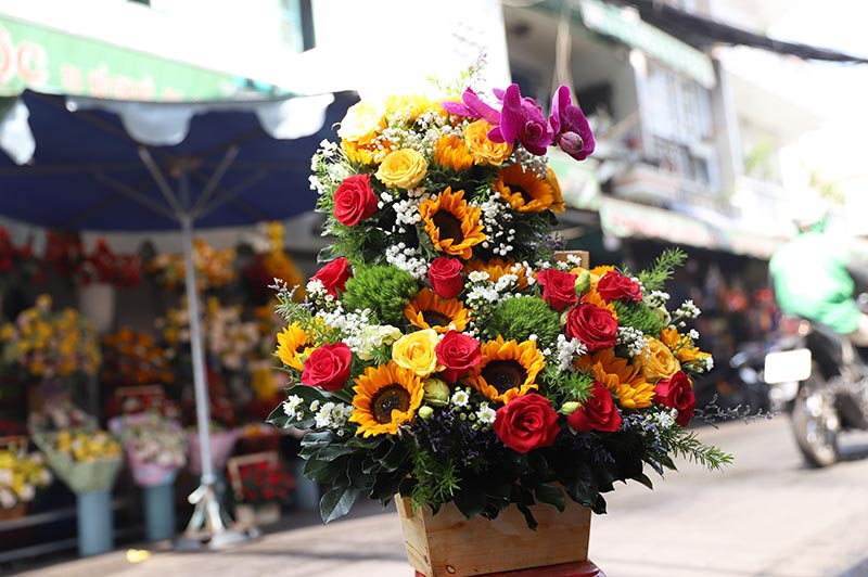 Hoa Valentine 6 - 7