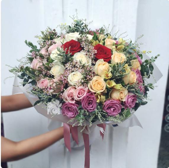 hoa 20-10 phố hoa