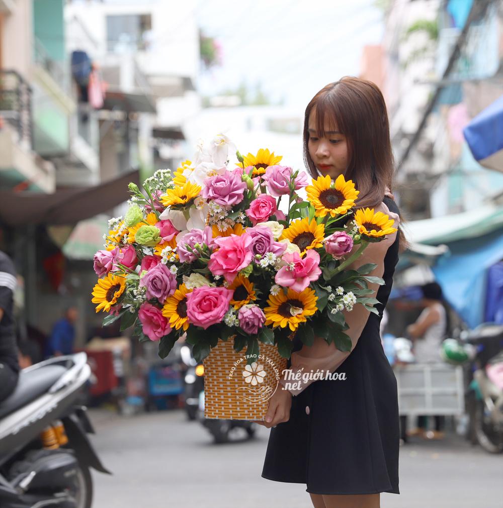 lang hoa sinh nhat yeu thuong dong day