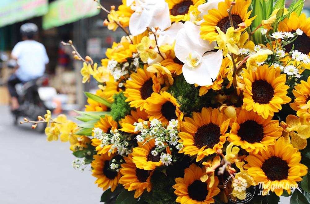 hoa sinh nhật màu nắng 4