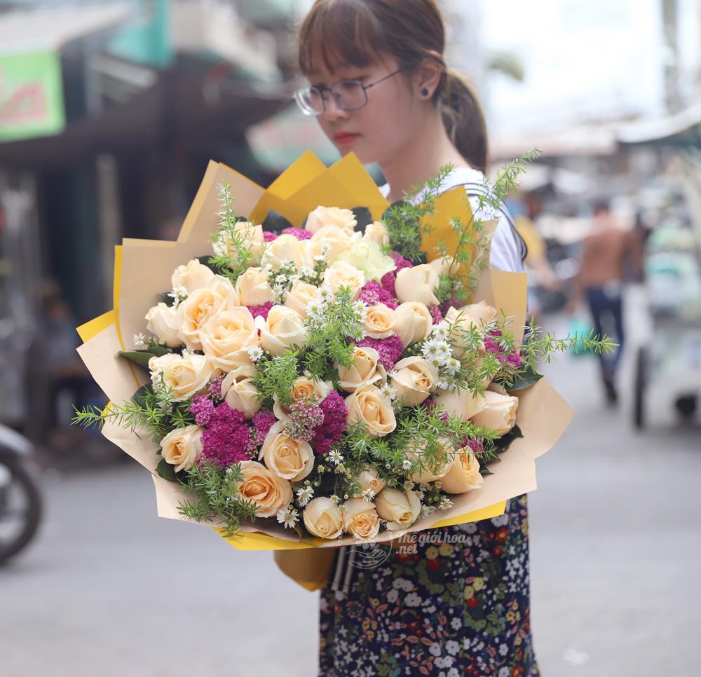vườn yêu hoa