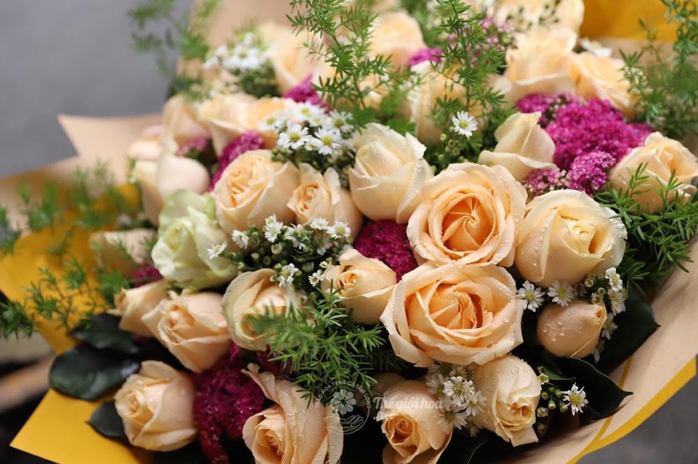 vườn yêu hoa sinh nhật