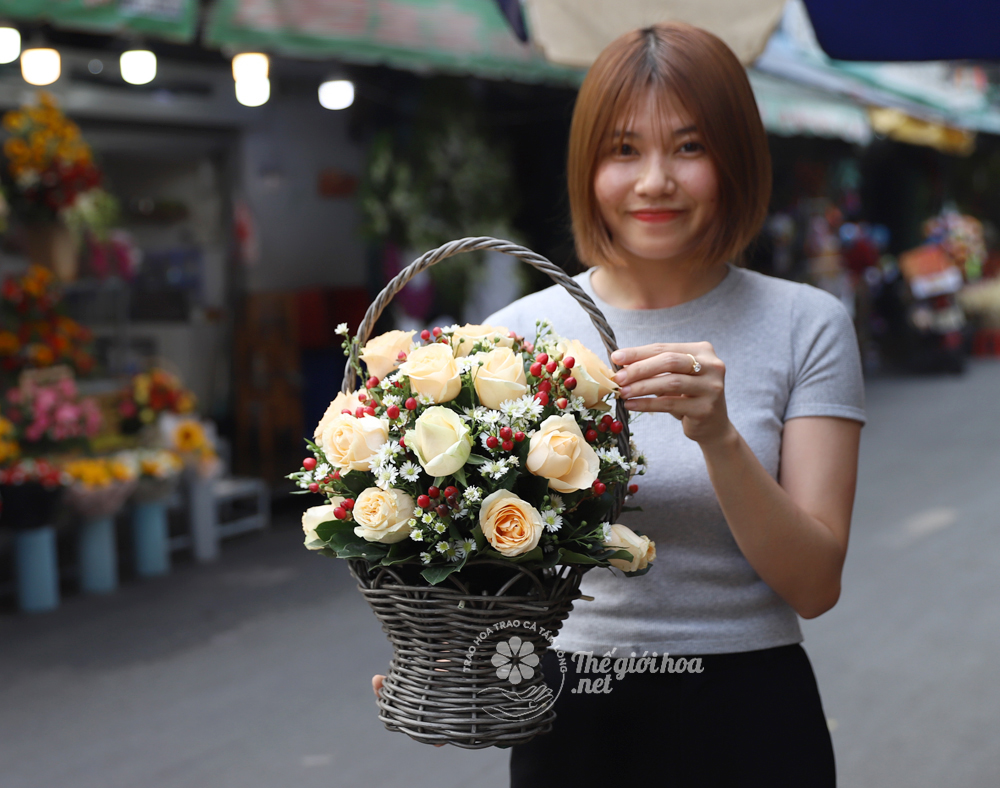 hoa sinh nhật yêu nhiều