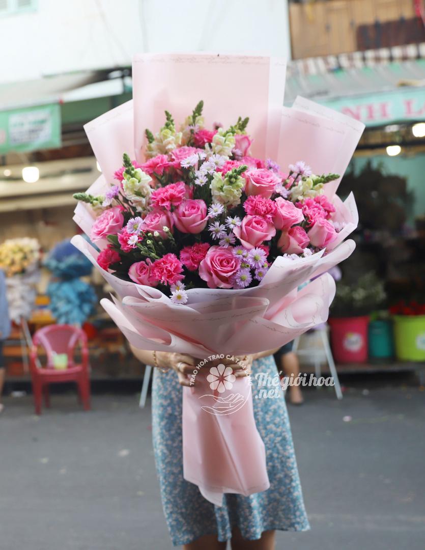 hoa sinh nhật sinh tươi