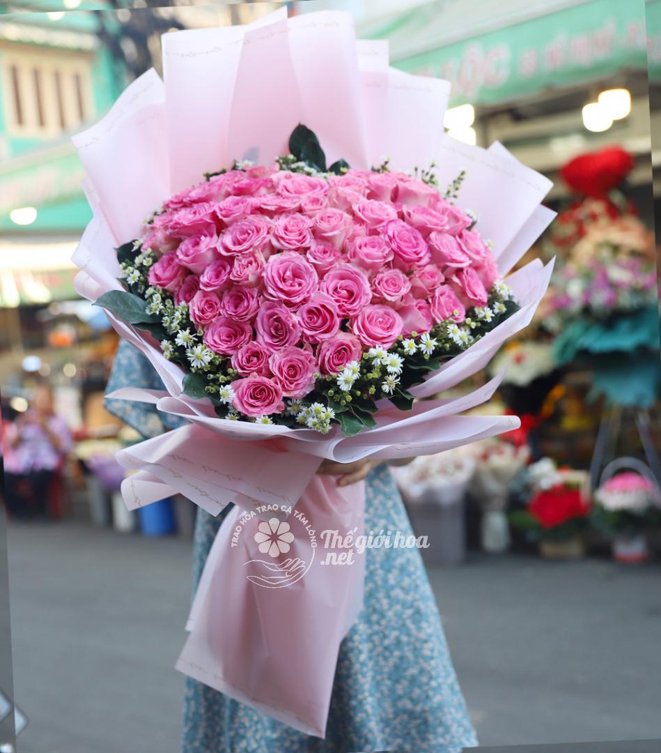 hoa sinh nhật trân trọng