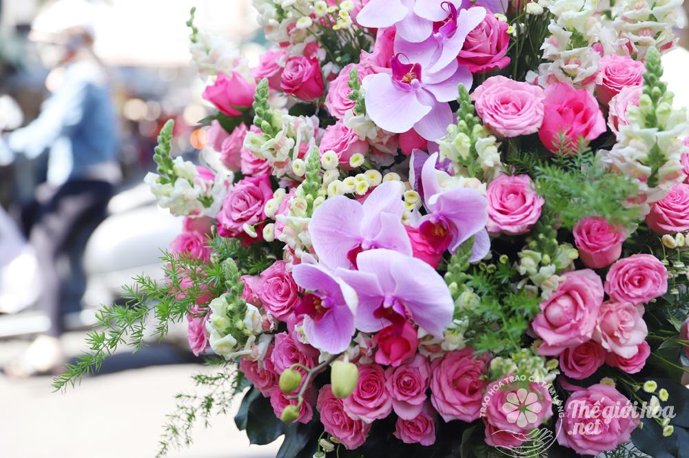 hoa sinh nhật ngày mới