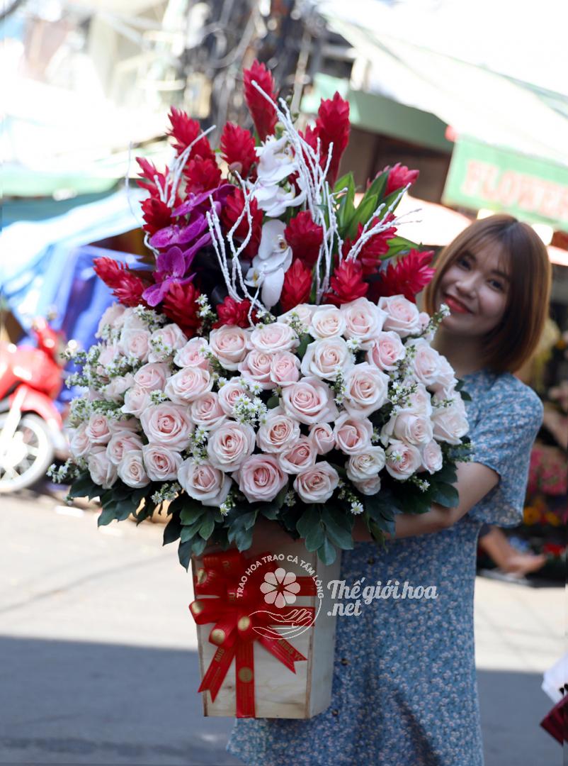 hoa sắc màu tình yêu