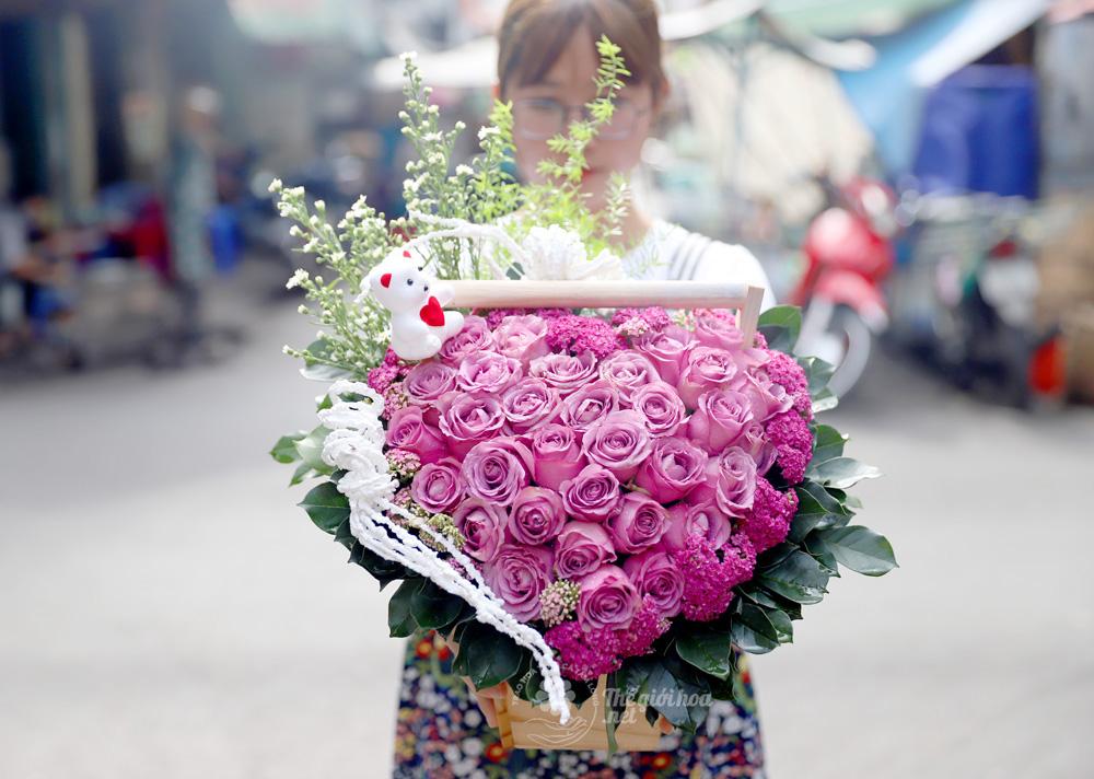 sản phẩm hoa sinh nhật đông đầy hạnh phúc