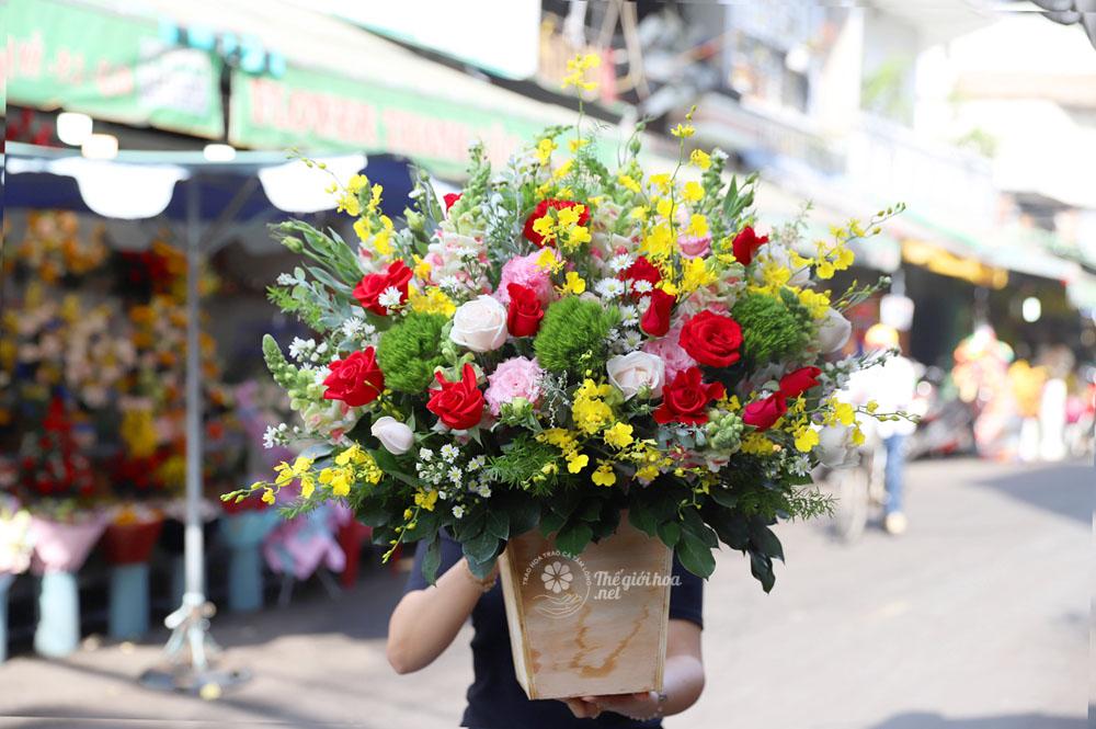 hoa sinh nhật yêu thương