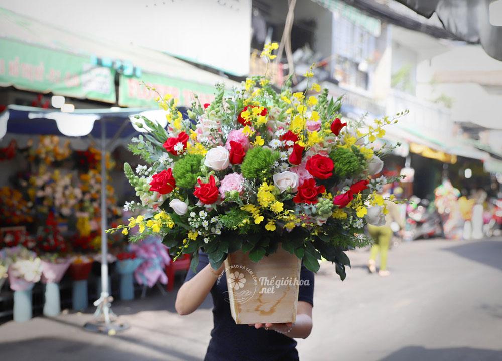 hoa sinh nhật yêu thương 3