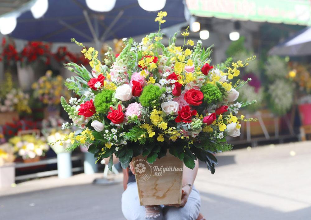hoa sinh nhật yêu thương 2