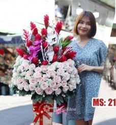 Hoa 20 tháng 10 - Sắc màu tình yêu MS21