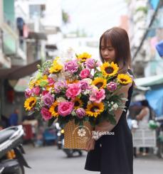 Hoa sinh nhật - Yêu thương tràn đầy