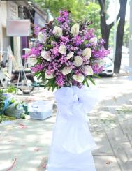 Lẵng hoa tang lễ thiên thu