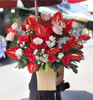 Hoa sinh nhật muôn màu cảm xúc