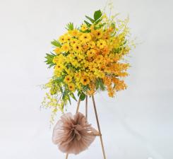 Hoa khai trương sắc màu thịnh vượng