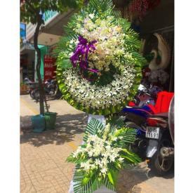 Hoa chia buồn - mẫu chia xa