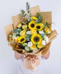 Hoa hướng dương Nắng mai