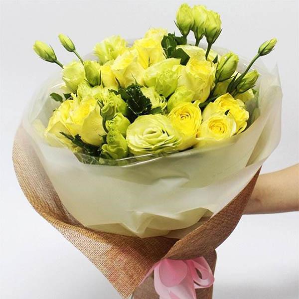 Hoa tặng sinh nhật vui lên nhé