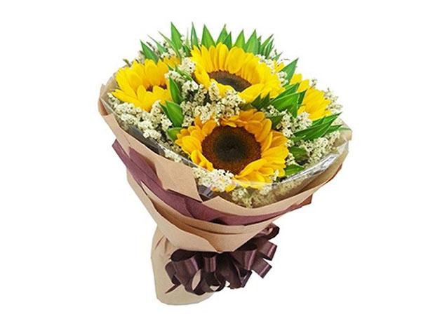 Hoa hướng dương cho lời chúc tương lai