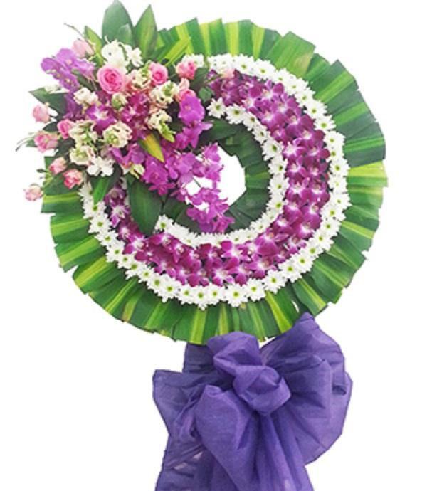 Vòng hoa chia buồn vãng sanh cực lạc