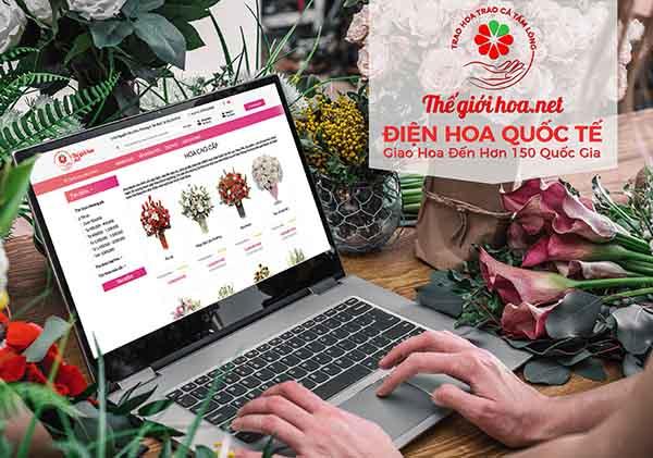 shop hoa chuyên cung cấp hoa cao cấp, bình dân