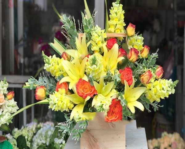 Hoa tặng snh nhật bạn trai