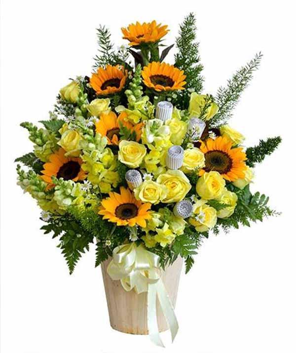 Gio hoa vươn đến hạnh phúc